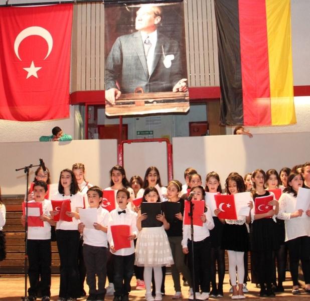 Çocuklar bu armağanı Atatürke borclu