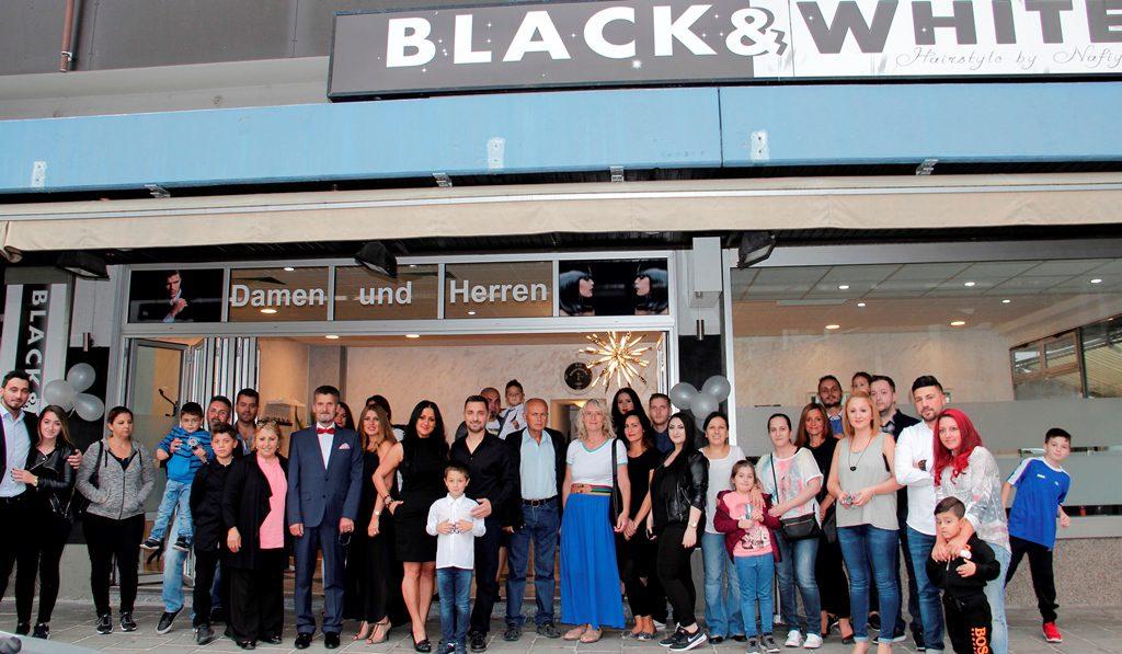 BLACK & WHITE KUAFÖR'E GÖRKEMLİ AÇILIŞ: Pforzheim, Mühlacker, Bretten, Bruchsal, Karlsruhe, Rastatt, Gaggenau bölgelerinde Türkçe haber yapan tek haber sitesi