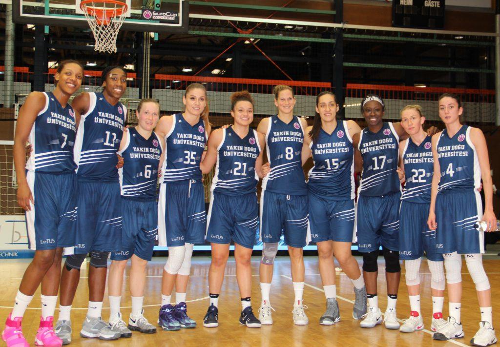 YDÜ Kadın Basketbol Takımı Üst Turu garantiledi: Pforzheim, Mühlacker, Bretten, Bruchsal, Karlsruhe, Rastatt, Gaggenau bölgelerinde Türkçe haber yapan tek haber sitesi