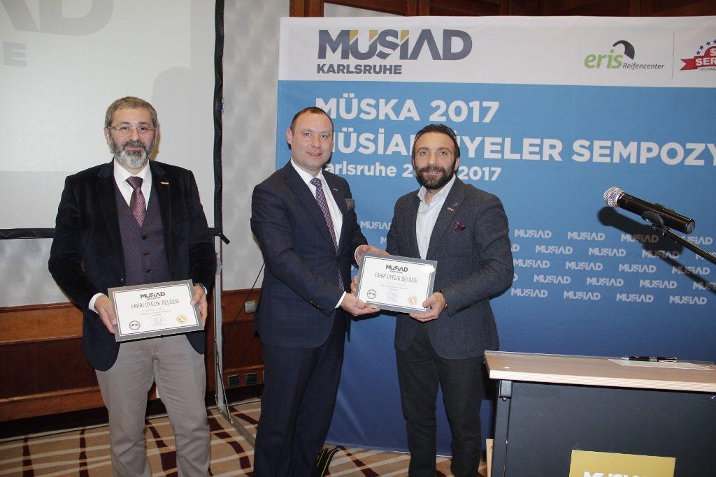 MÜSİAD Üyeler Sempozyonu yapıldı: Pforzheim, Mühlacker, Bretten, Bruchsal, Karlsruhe, Rastatt, Gaggenau bölgelerinde Türkçe haber yapan tek haber sitesi