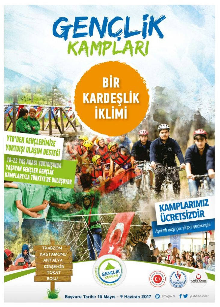 Yurtdışında Yaşayan Gençler Gençlik Kamplarıyla Türkiye'de Buluşuyor!: Pforzheim, Mühlacker, Bretten, Bruchsal, Karlsruhe, Rastatt, Gaggenau bölgelerinde Türkçe haber yapan tek haber sitesi