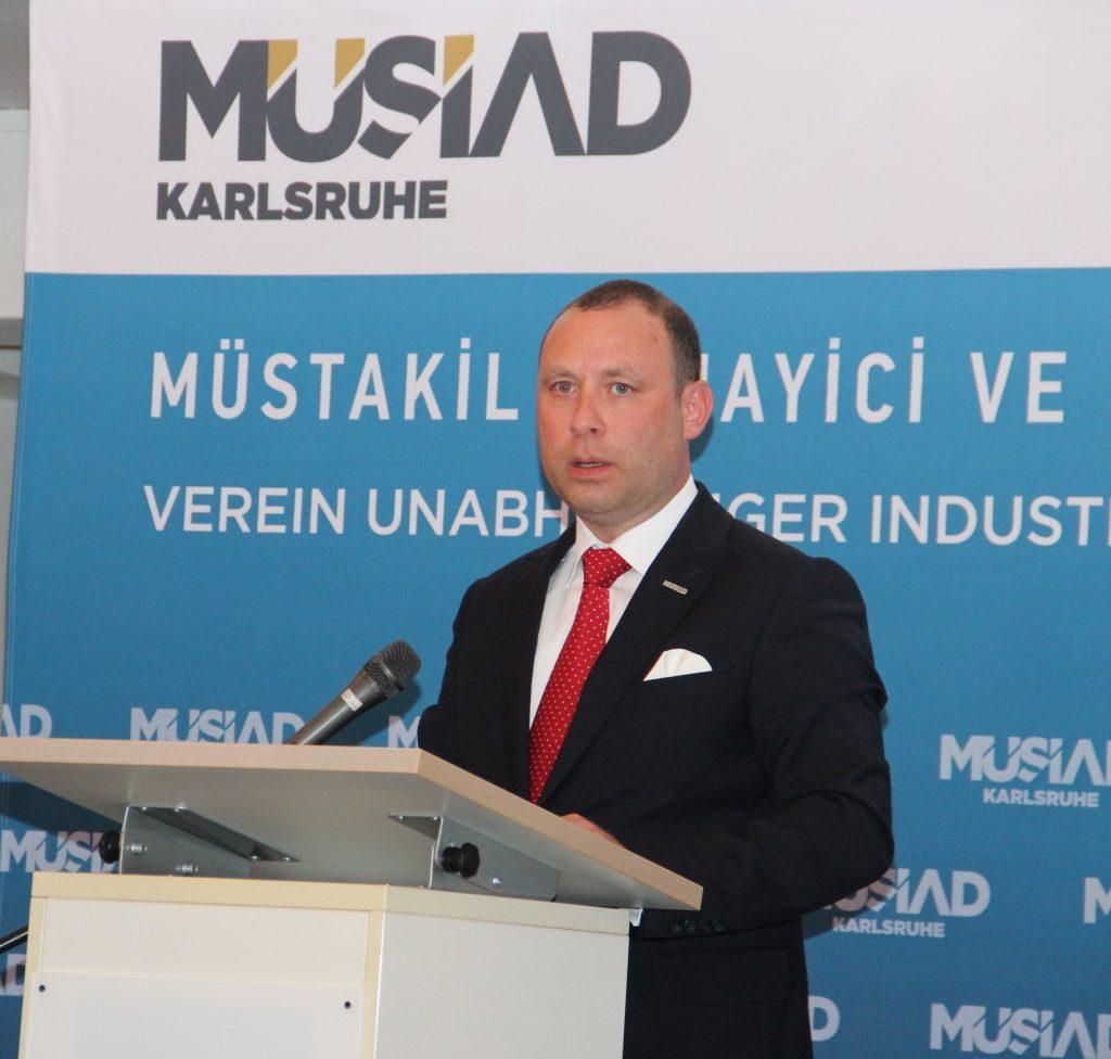 MÜSİAD İFTAR'DA BULUŞTURDU: Pforzheim, Mühlacker, Bretten, Bruchsal, Karlsruhe, Rastatt, Gaggenau bölgelerinde Türkçe haber yapan tek haber sitesi