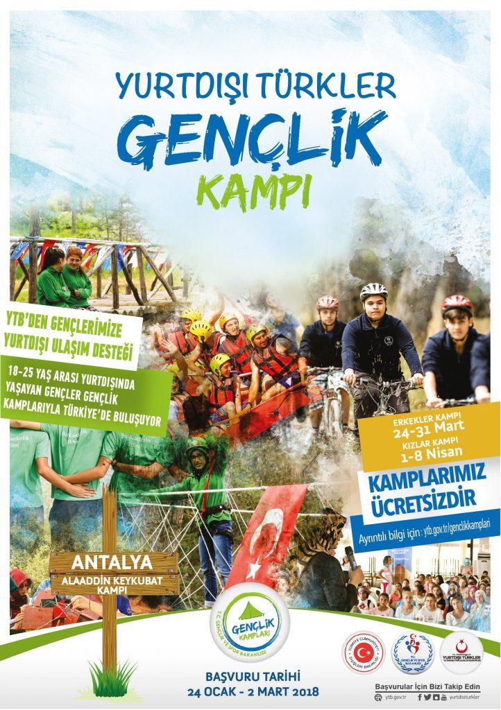 """Yurtdışındaki Gençlerimiz Türkiye'de """"Gençlik Kampı""""nda Buluşuyor: Pforzheim, Mühlacker, Bretten, Bruchsal, Karlsruhe, Rastatt, Gaggenau bölgelerinde Türkçe haber yapan tek haber sitesi"""