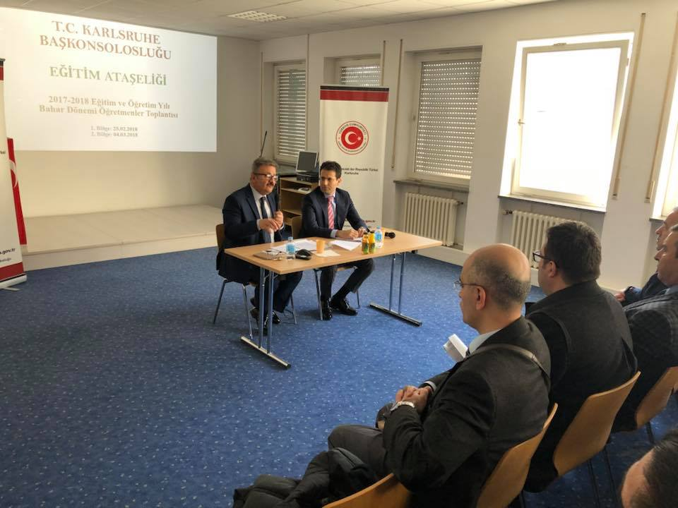 Öğretmenlerin sorunları dinlendi:Pforzheim, Mühlacker, Bretten, Bruchsal, Karlsruhe, Rastatt, Gaggenau bölgelerinde Türkçe haber yapan tek haber sitesi