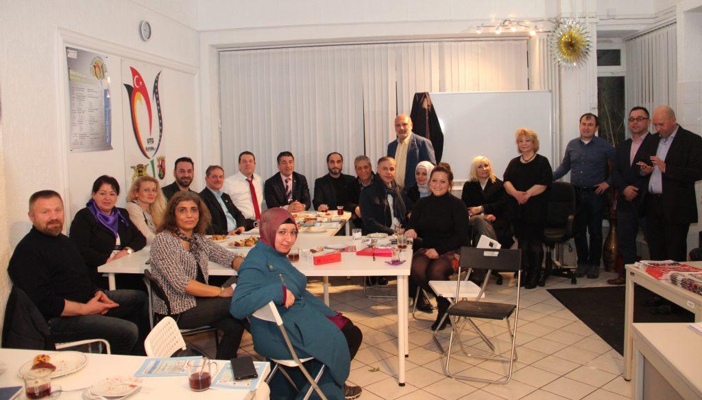 UTG Bölge istişare toplantısı yapıldı:Pforzheim, Mühlacker, Bretten, Bruchsal, Karlsruhe, Rastatt, Gaggenau bölgelerinde Türkçe haber yapan tek haber sitesi