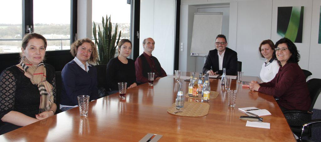 DTG Temsilcileri Belediye Başkanını Ziyaret ettiler:Pforzheim, Mühlacker, Bretten, Bruchsal, Karlsruhe, Rastatt, Gaggenau bölgelerinde Türkçe haber yapan tek haber sitesi
