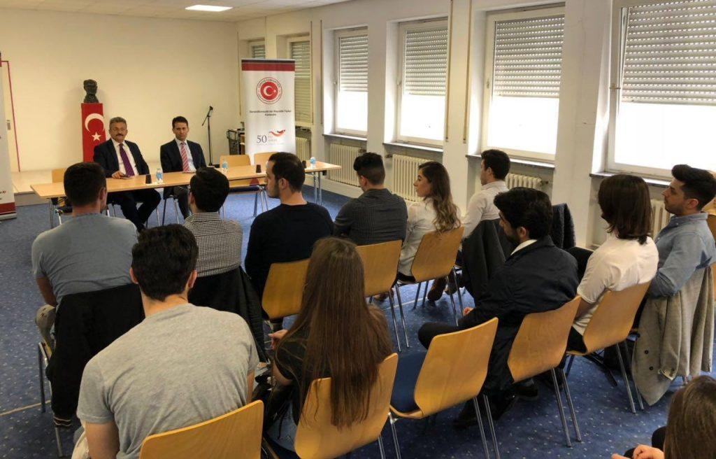 KATÖD Başkonsolosu ziyaret etti: Pforzheim, Mühlacker, Bretten, Bruchsal, Karlsruhe, Rastatt, Gaggenau bölgelerinde Türkçe haber yapan tek haber sitesi