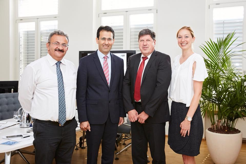 Arslan Karlsruhe Teknoloji Enstitüsünü ziyaret etti:Pforzheim, Mühlacker, Bretten, Bruchsal, Karlsruhe, Rastatt, Gaggenau bölgelerinde Türkçe haber yapan tek haber sitesi