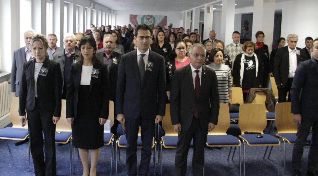 Atatürk 80. Ölüm yıldönümünde anıldı:Pforzheim, Mühlacker, Bretten, Bruchsal, Karlsruhe, Rastatt, Gaggenau bölgelerinde Türkçe haber yapan tek haber sitesi