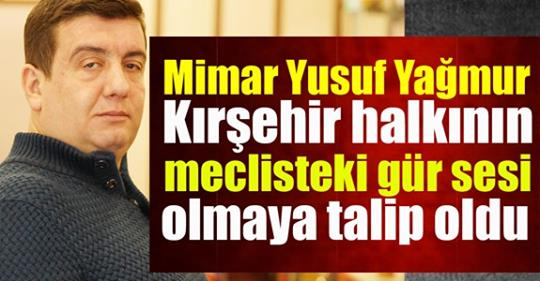Pforzheim, Mühlacker, Bretten, Bruchsal, Karlsruhe, Rastatt, Gaggenau bölgelerinde Türkçe haber yapan tek haber sitesiMimar Yusuf Yağmur, Kırşehir halkının gür sesi olacak: