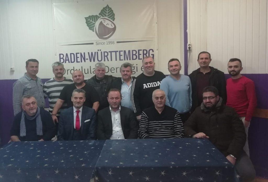 Ordulular derneği yeni yönetimini belirledi:Pforzheim, Mühlacker, Bretten, Bruchsal, Karlsruhe, Rastatt, Gaggenau bölgelerinde Türkçe haber yapan tek haber sitesi