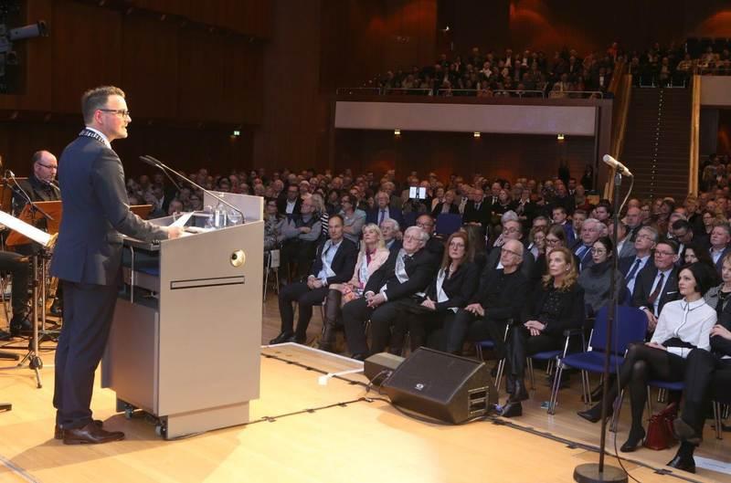 Pforzheim Belediye Başkanı yeni yıl resepsiyonu verdi:Pforzheim, Mühlacker, Bretten, Bruchsal, Karlsruhe, Rastatt, Gaggenau bölgelerinde Türkçe haber yapan tek haber sites