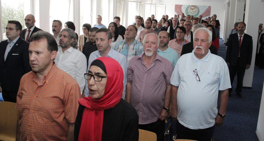 15 Temmuz Şehitlerini anma programı yapıldı:Pforzheim, Mühlacker, Bretten, Bruchsal, Karlsruhe, Rastatt, Gaggenau bölgelerinde Türkçe haber yapan tek haber sitesi