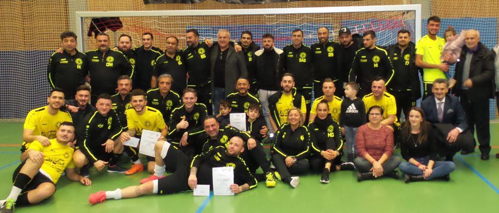 Şampiyon Gu-Türkspor 3