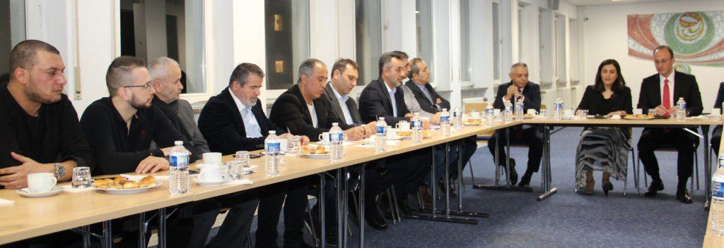 Belediye Başkanı Avni Örki Avrupalı İş adamlarına Pamukkaleyi anlattı:Pforzheim, Mühlacker, Bretten, Bruchsal, Karlsruhe, Rastatt, Gaggenau bölgelerinde Türkçe haber yapan tek haber sitesi
