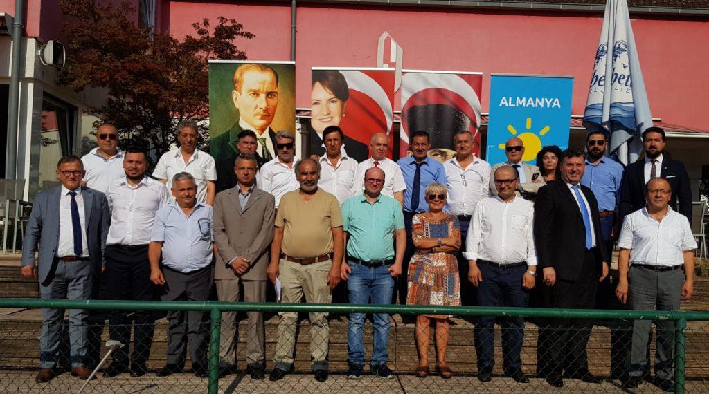 Almanya İYİ Parti Gönüllüleri Türklerin sorunlarını TBMM'ye taşıdı:Pforzheim, Mühlacker, Bretten, Bruchsal, Karlsruhe, Rastatt, Gaggenau bölgelerinde Türkçe haber yapan tek haber sitesi
