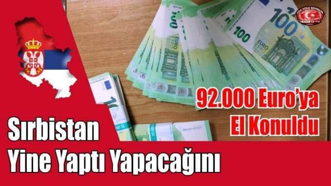 92 bin Euro hediye