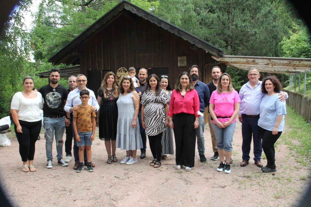 Başkonsolos Oberndorf'u ziyaret etti